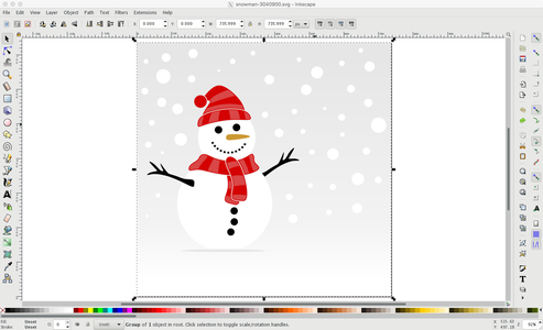 Clean the Sketch With Inkscape