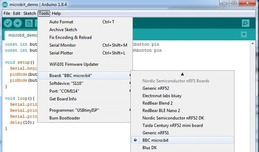 Install the BBC Micro:Bit Core Into the Arduino IDE