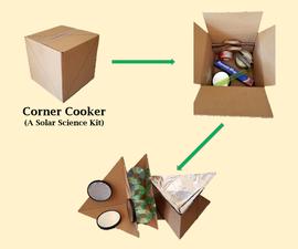 Corner Cooker - a Solar Kit for Students