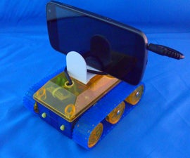Building an Android Basic Programmable Tank for Less Than $50.00