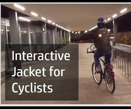 Interactive Jacket for Cyclists