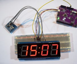 A DIY Clock With All I2C Compatible Components