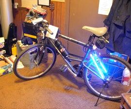 The Bike Lite Glow Using CCFL