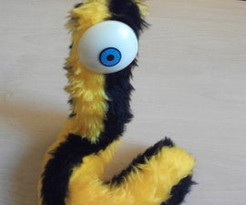 Poseable Worm Monster