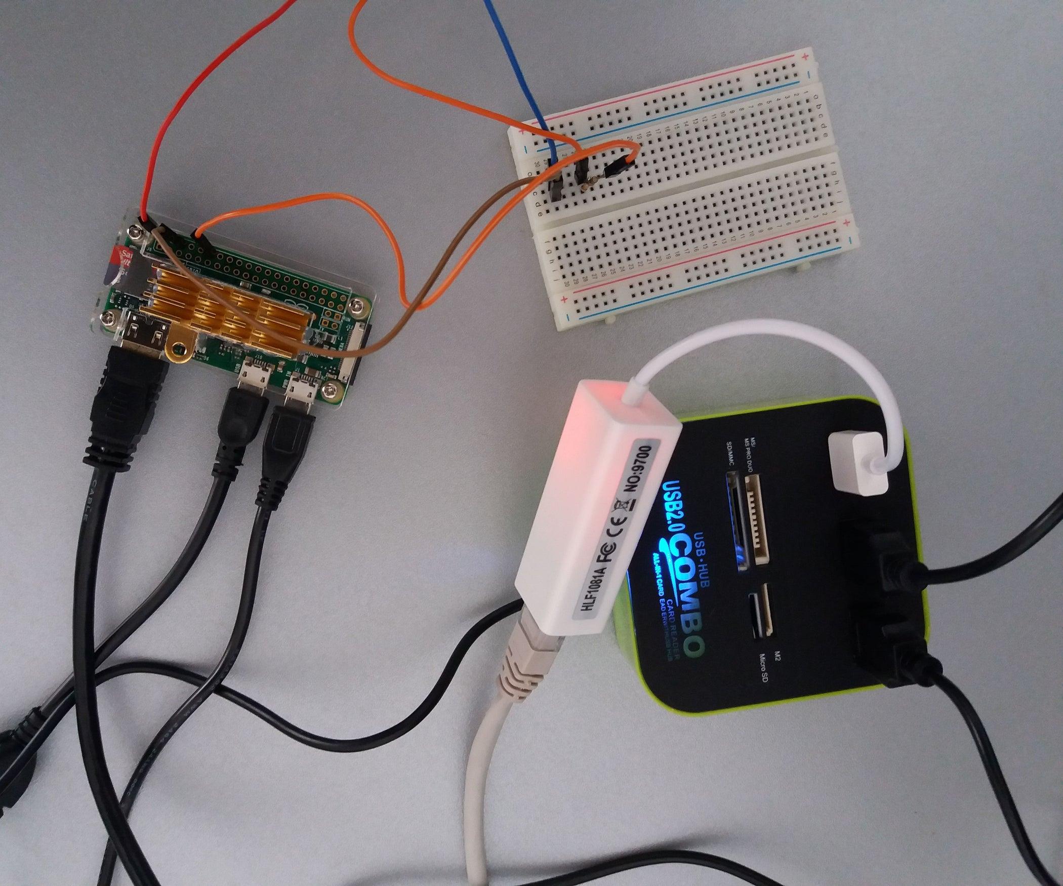 Control Servo Via Raspberry Pi Zero 5 Steps With Pictures Wiringpi