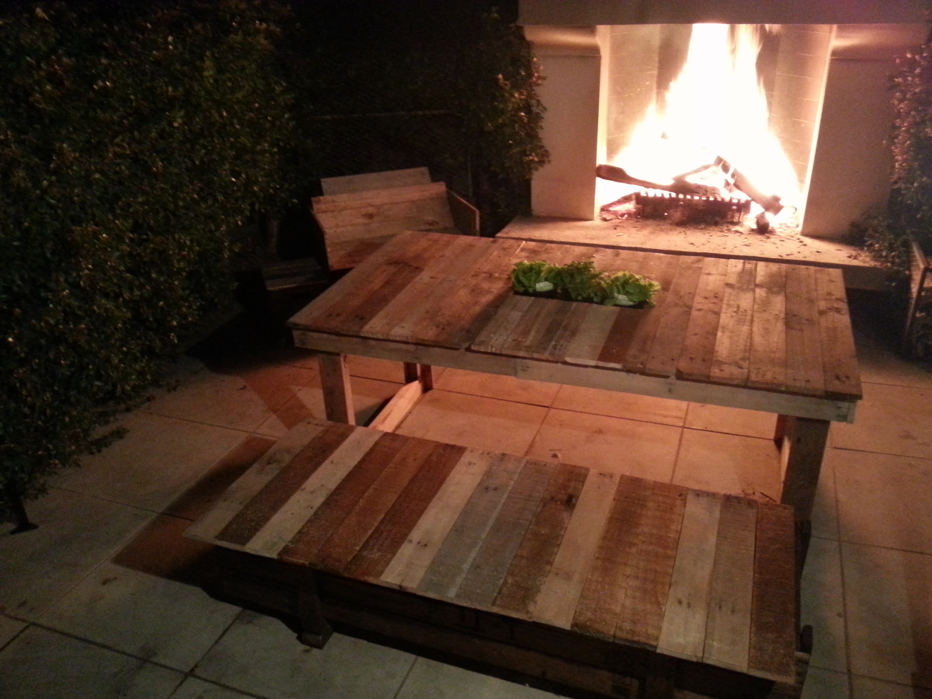 Picture of Upcycled Outdoor Furniture Set