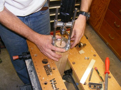 Drill Holes in Legs