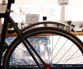 Recycled Rear Mudguard