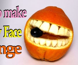How to make a Smiley Face Orange