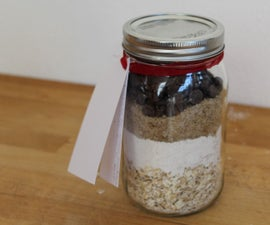 Oatmeal Chocolate Chip Cookies in a Jar