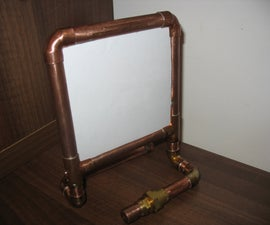 Pipe Photo Frame