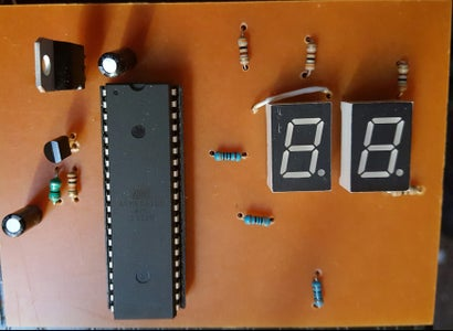 Temprature Sensor Using Lm35 and Atmega 16 in C