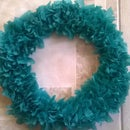 Simple Green Christmas Wreath