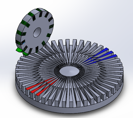 Picture of Design 2, Modified Disc and Wheel