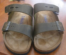 Alter Sandals for Pregnant Feet
