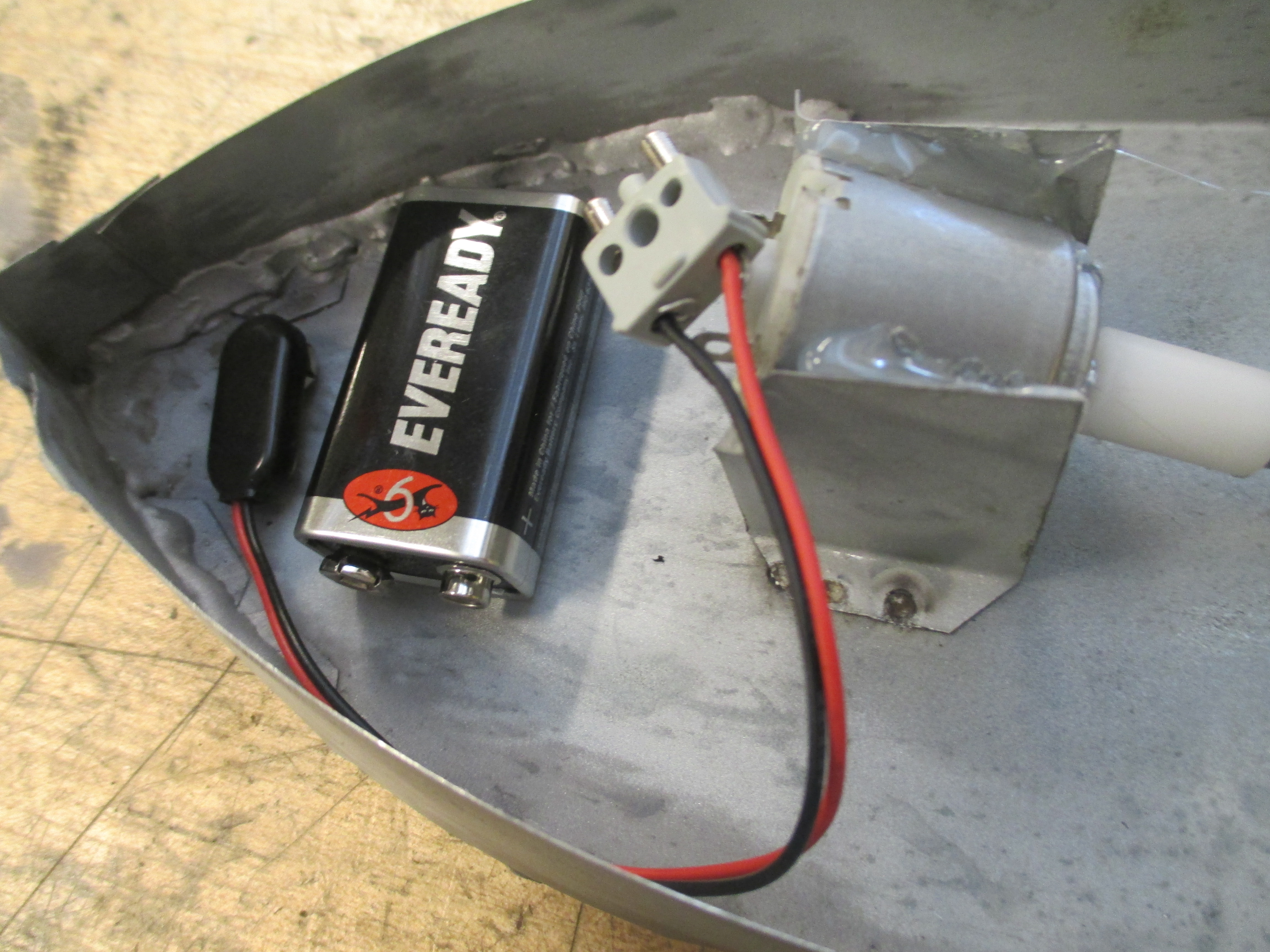 Picture of Testing the Motor