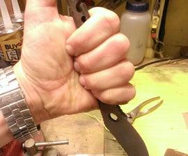 KARAMBIT Combat Fish Bone Knife and Bottle Opener (inspired by Mrballeng, Vitizop, & Bartolo)
