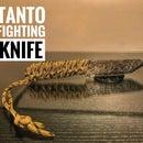 Tanto Fighting Knife Tutorial