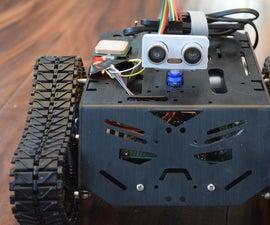 Autonomous Tank With GPS