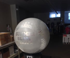 How To Make A 25 Pound Ball Of Aluminum Into a Trophy