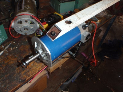 Marking Out the Motor Mount