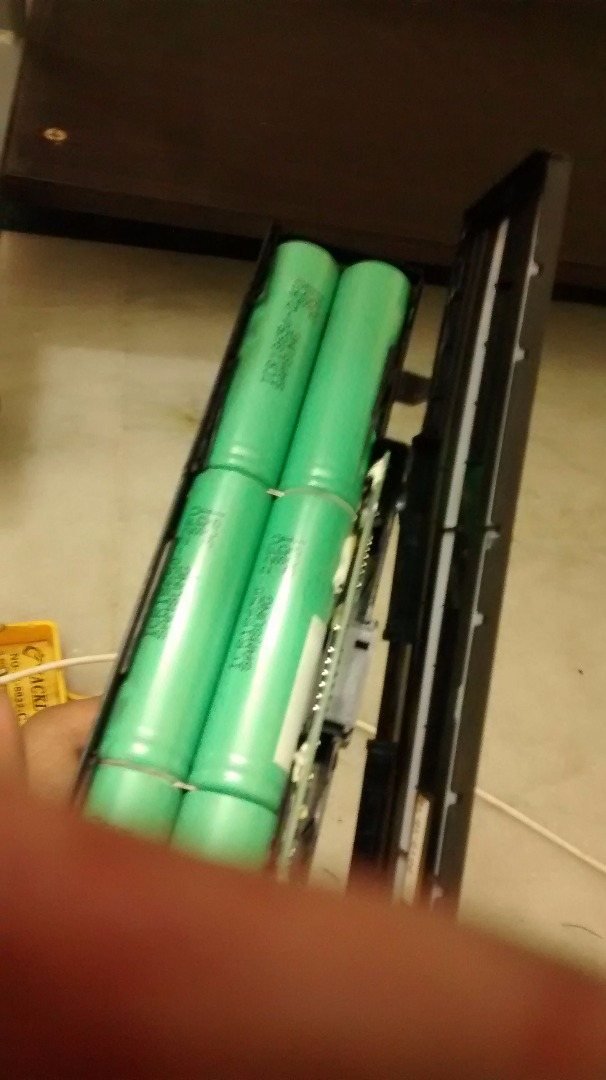 Picture of Salvaging Laptop Battery for Free Battery
