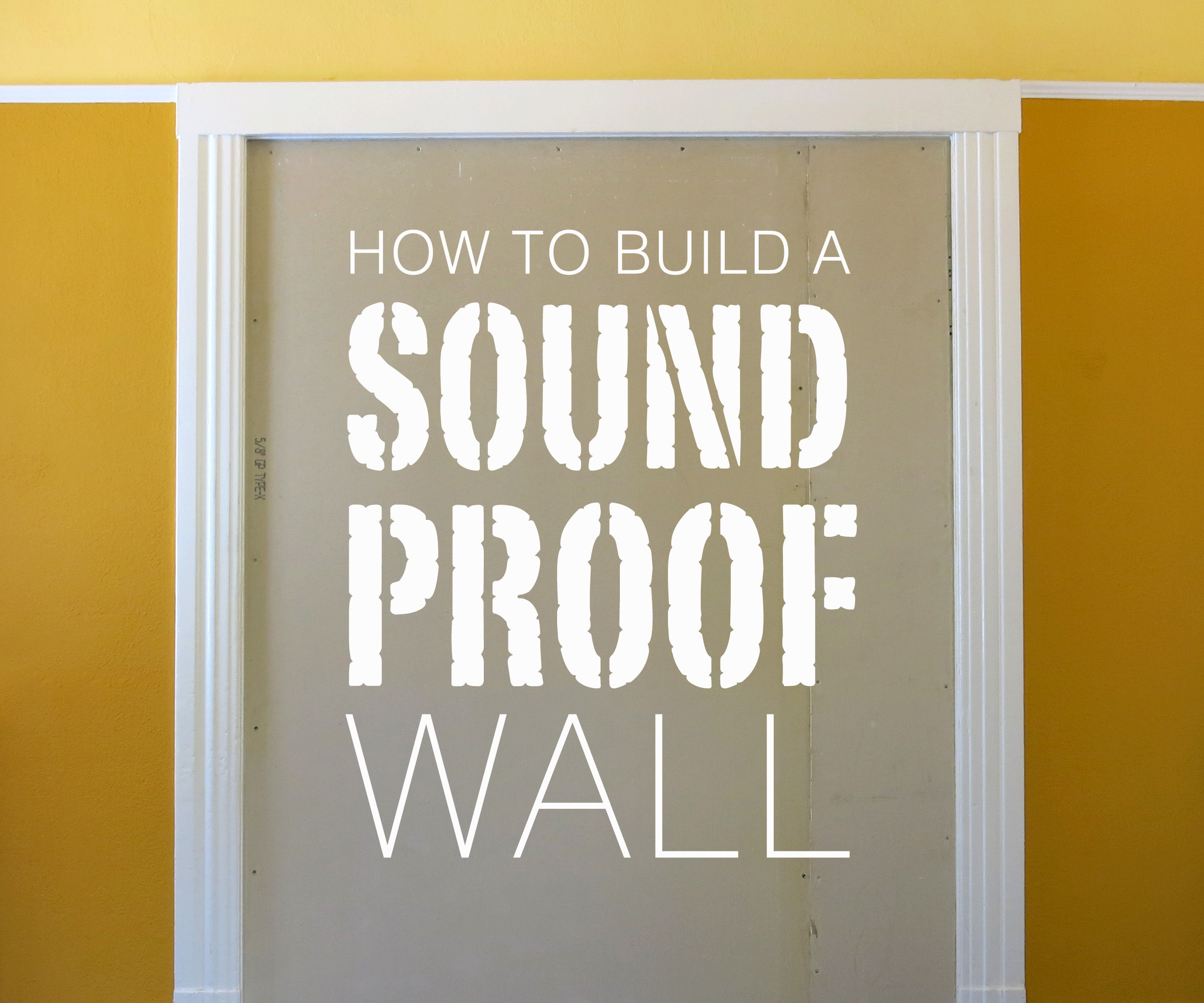 Build a Soundproof Wall: 8 Steps (with Pictures)