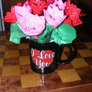Bouquet of Duck Tape Roses