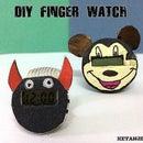 ||DIY FINGER WATCH||