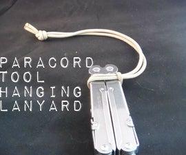 Paracord Pegboard Lanyard (space saving shop hack)