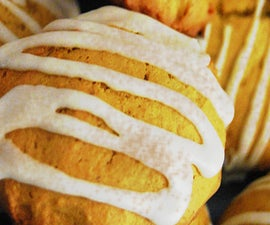 Spiced Pumpkin Pillow Cookies (With Ginger Cream Cheese Frosting)