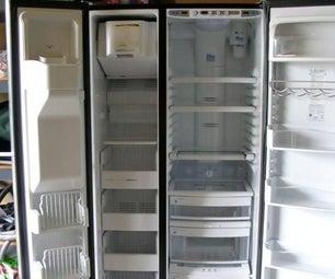 Falling Freezer Shelves Fix