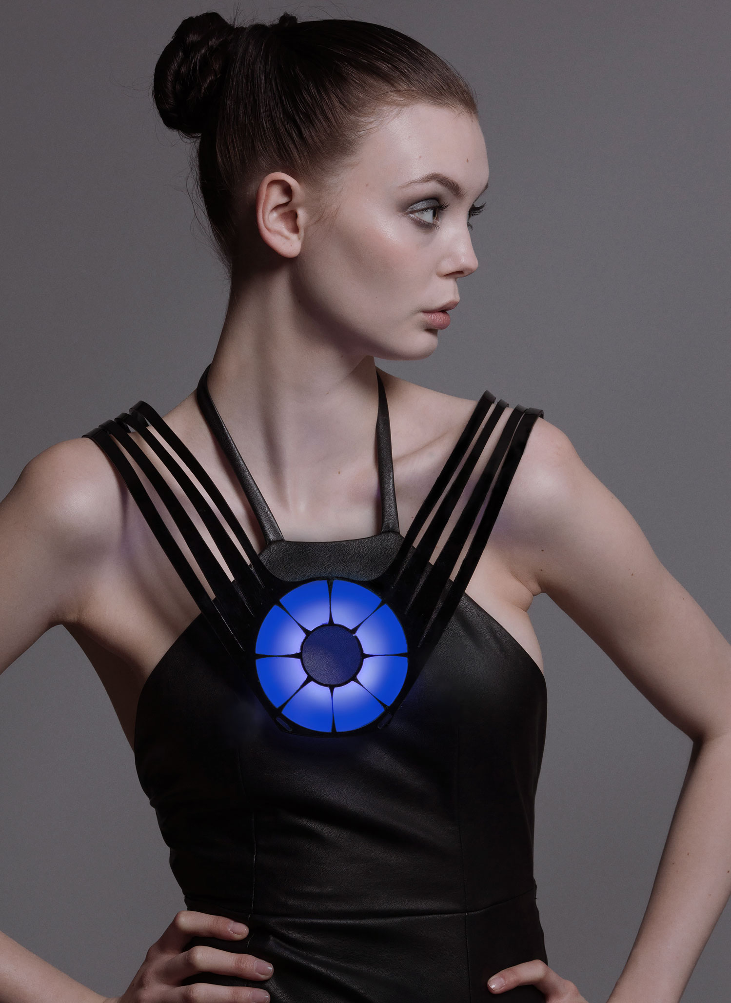 Picture of Monitor Dress - Connect Heart Signals to the IoT