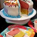 Making a Four Seasons Cake (Family Fun)