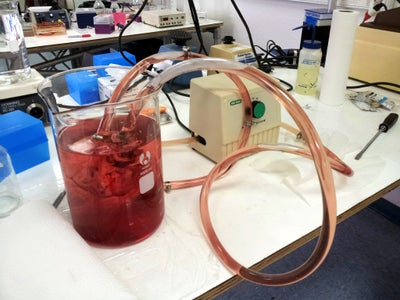Water and Saline Perfusion