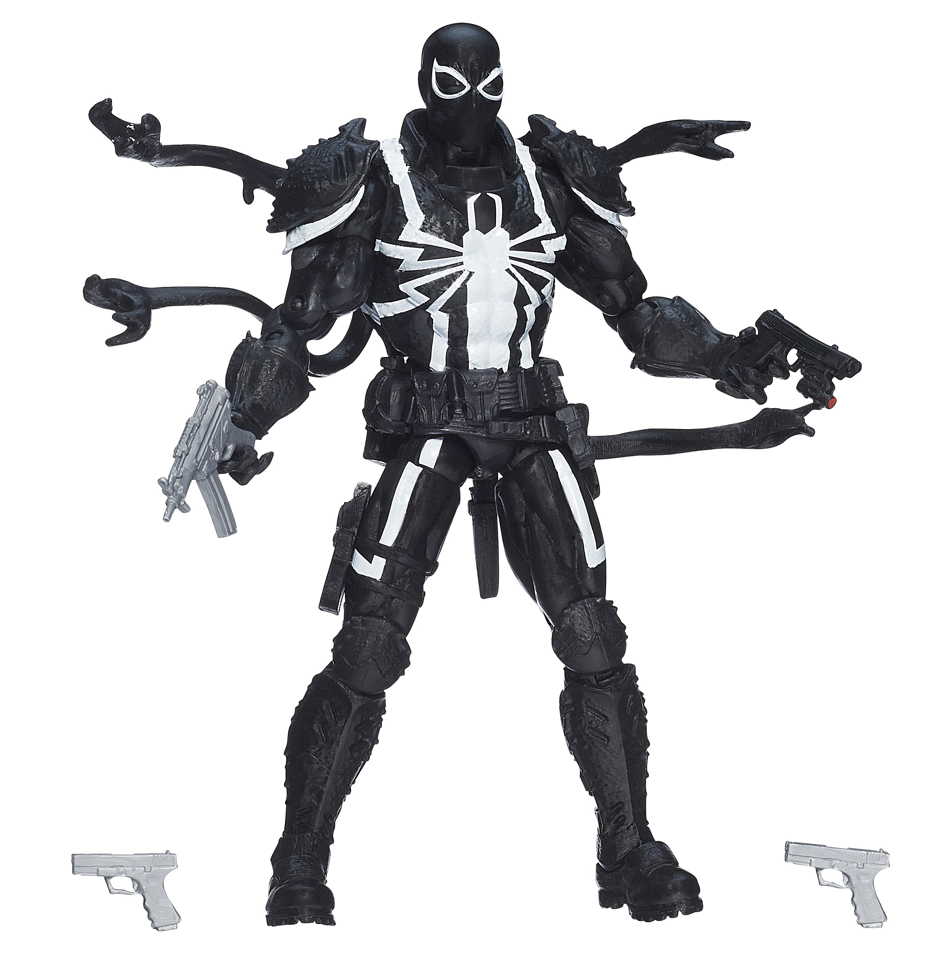 "Picture of How to Make a Marvel: ""Agent Venom"" Costume"