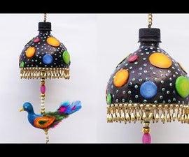 DIY Bird Wind Chime Using Waste Plastic Bottles