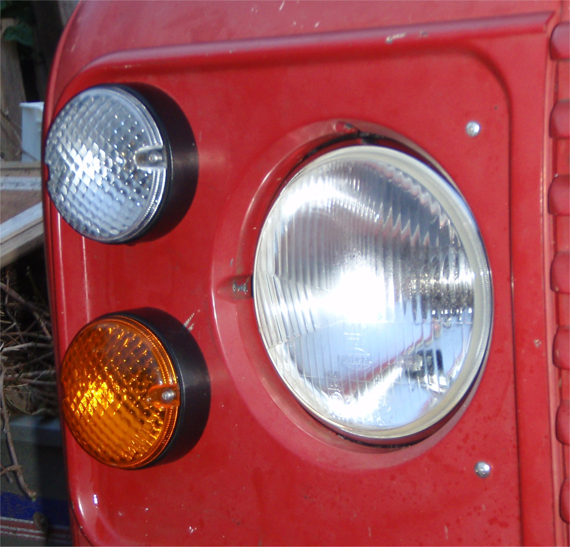 Picture of Upgrading the Exterior Lights on a Landrover Defender to NAS. (Part 2 of 3)