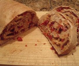 Bacon Tomato Onion Bread