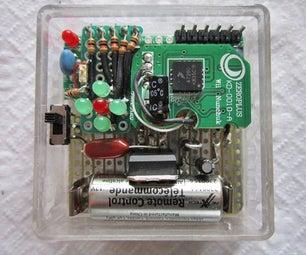Wii Nunchuck Arduino Spirit Level