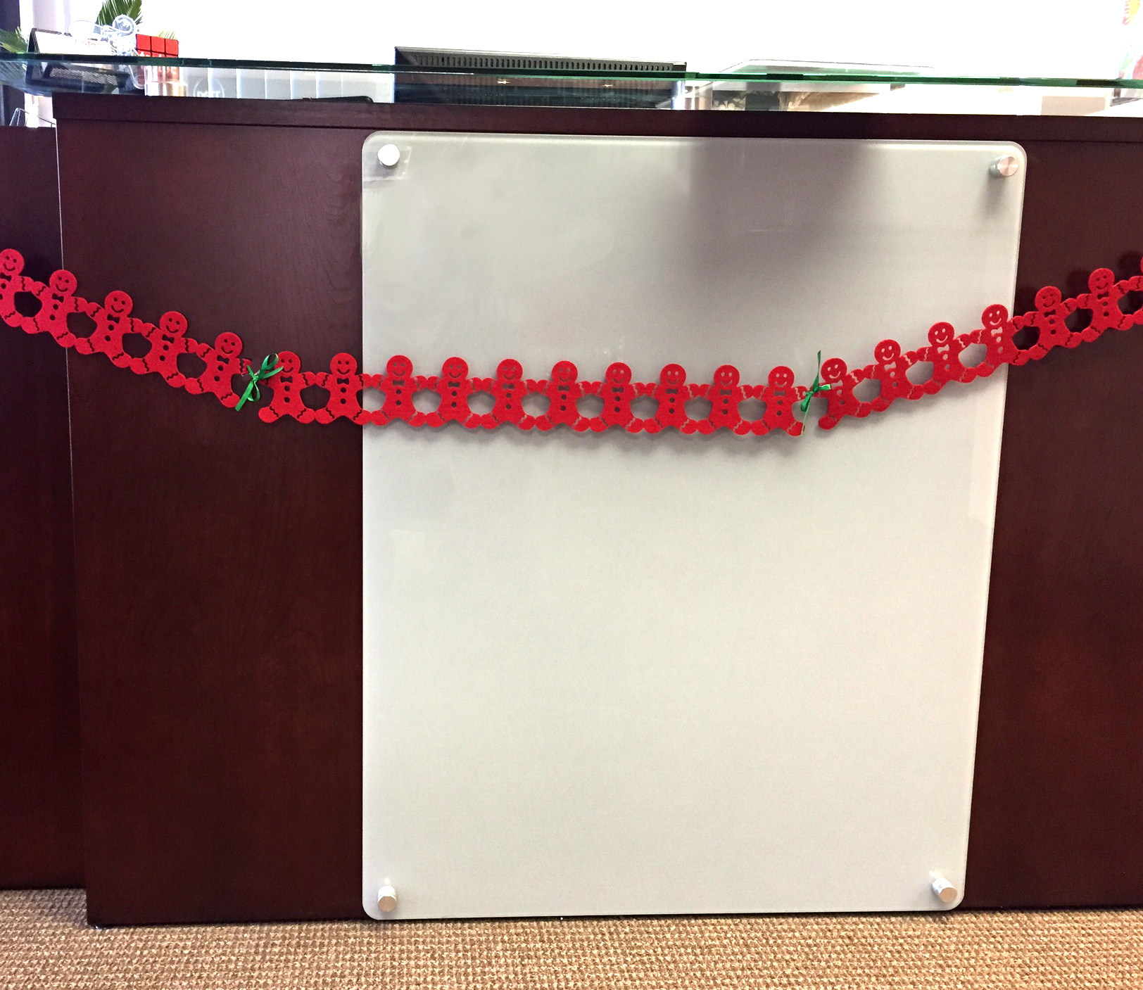 Picture of Laser Cut Felt Garland