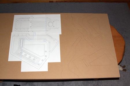Construction - Main Body Parts and Handle