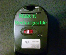 Make any wireless mouse rechargeable