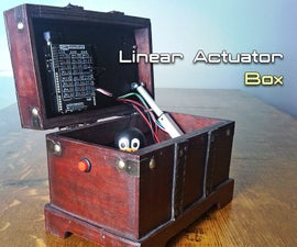 Automatically Opening / Closing a Box With a Linear Actuator and Arduino