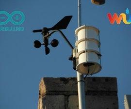 Arduino Uno Wireless Weather Station   (Wunderground.com)