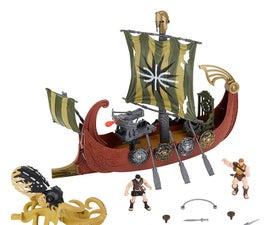 Toy Ship Upgrade.