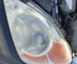 How to fix cloudy headlights