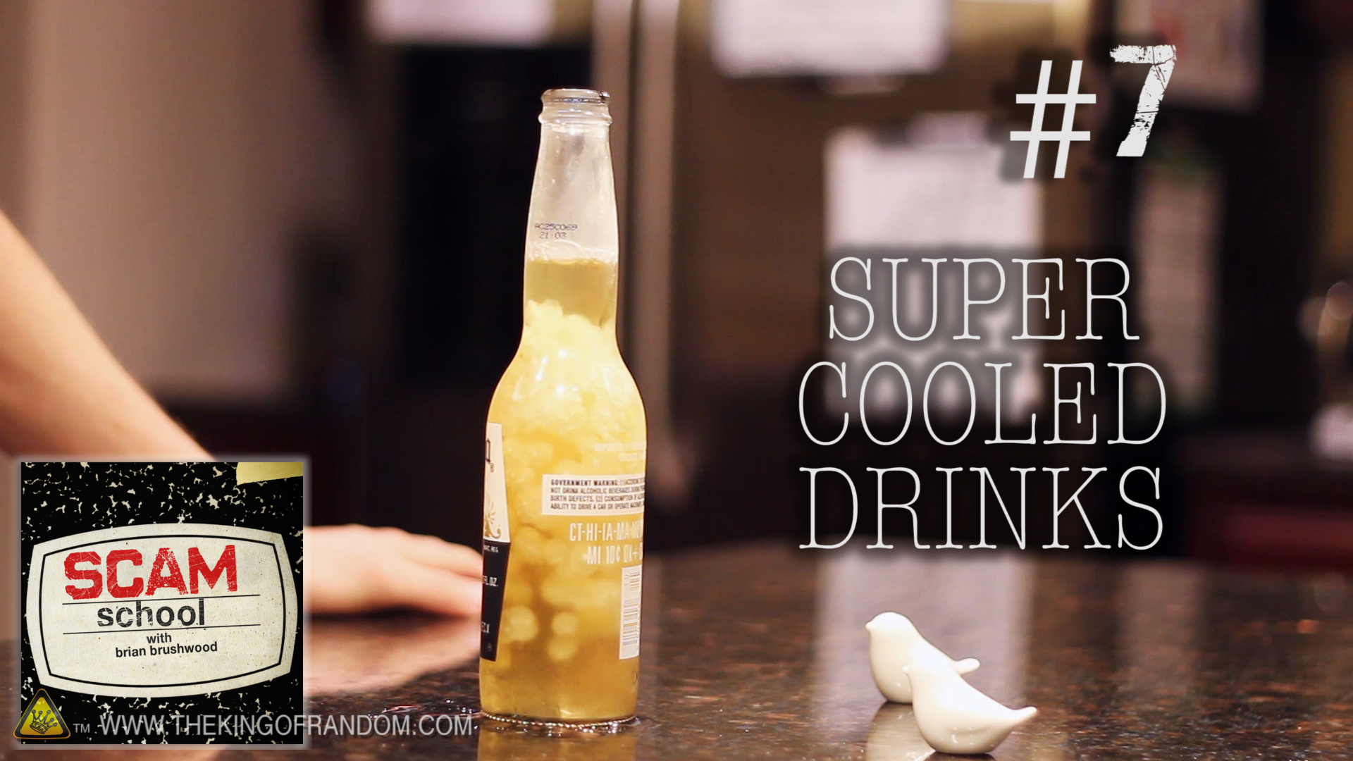 Picture of Super Cooled Drinks - ScamSchool