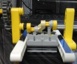 Lego Technic inline 2 engine