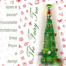THE (F)AIRY TREE A.K.A. space saver chocolate xmas tree from a lamp